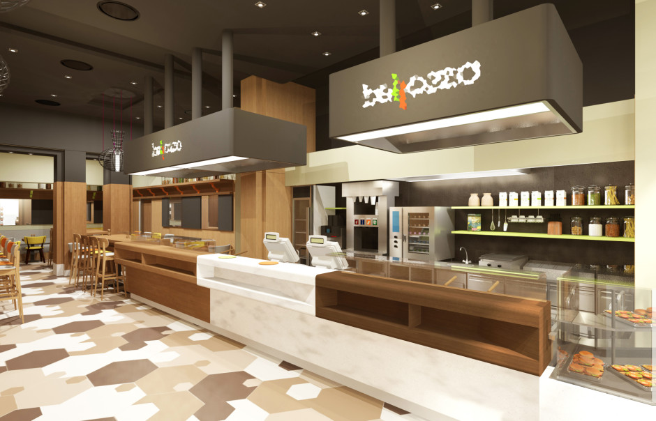 Medveczky gothard bellozzo fast food chain store interior